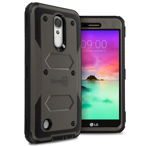 Hardcase Lg K8 for lg k8 2017 aristo lv3 hybrid shockproof phone cover armor ebay