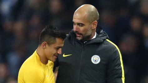 alexis sanchez guardiola man city boss pep guardiola says clubs will be monitoring