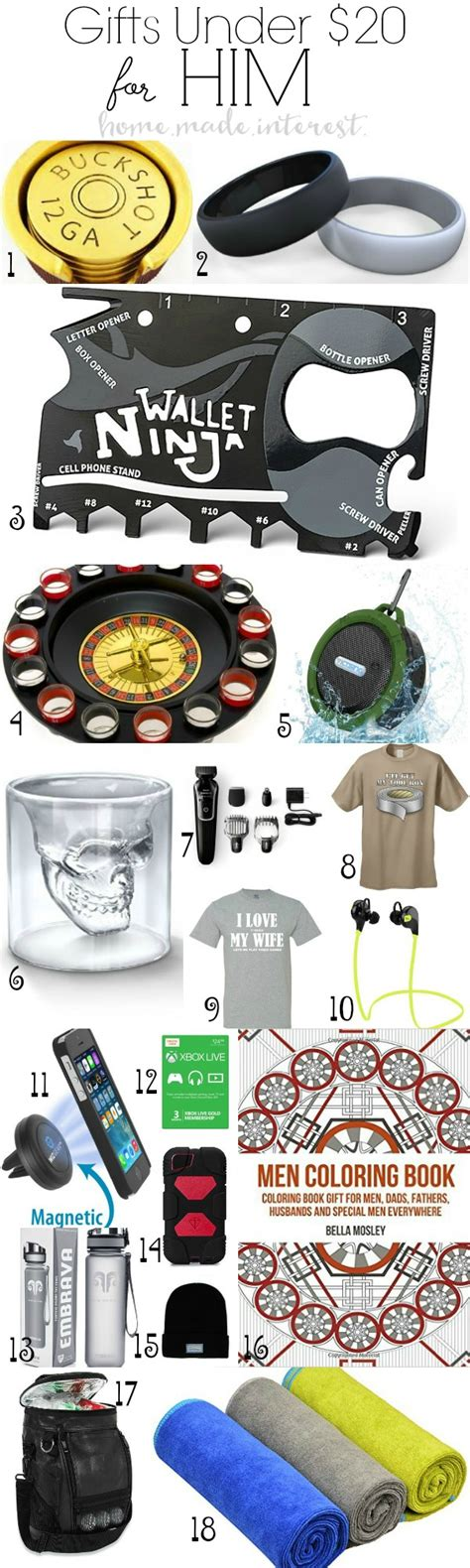 inexpensive gifts for him home made interest