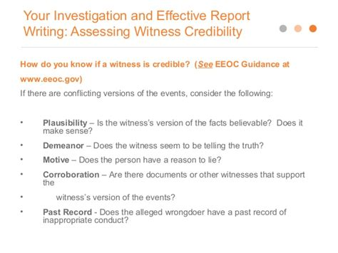 Investigation Report Writing Software by Writing Effective Investigation Reports