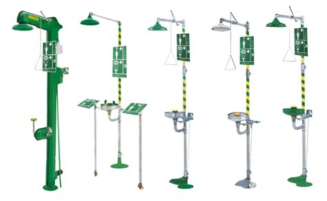 Emergency Shower Definition by Combinations Units Pnr