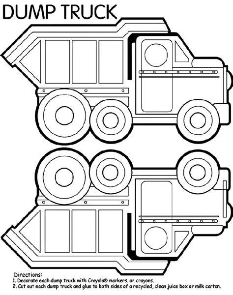 coloring page dump truck dump truck box coloring page this could also be used as