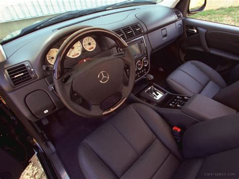 W163 Interior by 2003 Mercedes M Class Ml55 Amg Specifications