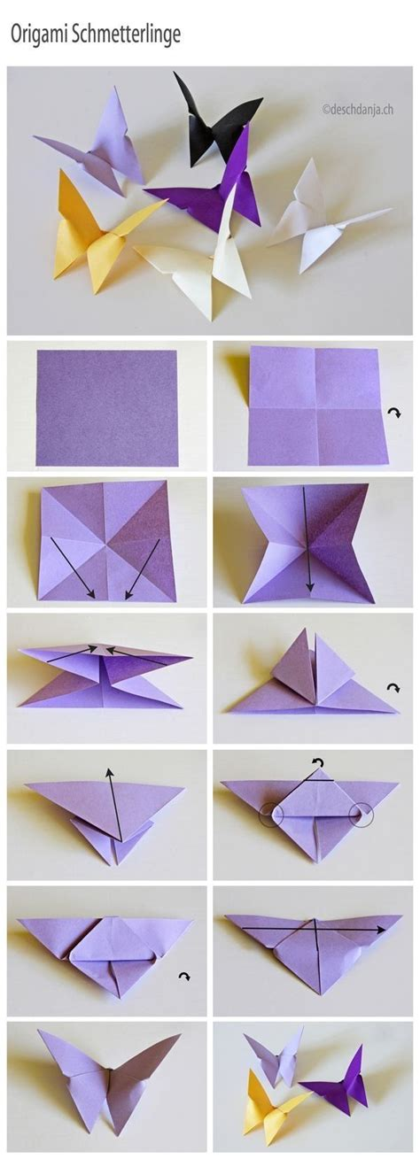 Easy Pretty Origami - 91 best images about theme butterfly on