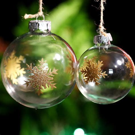 online buy wholesale clear glass ornament balls supplies