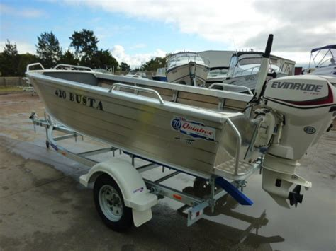 aluminium boat packages boat listing quintrex 420 busta package