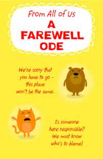 a farewell ode greeting card luck printable card american greetings