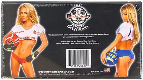 bench warmers cards benchwarmer soccer premium trading cards box 2012 da