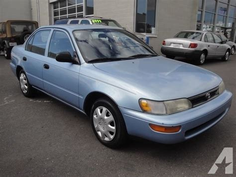 1994 Toyota Corolla Fuel 1994 Toyota Corolla For Sale In San Leandro California