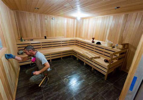 Steam Sauna Room Uap Badan sauna and steam room construction