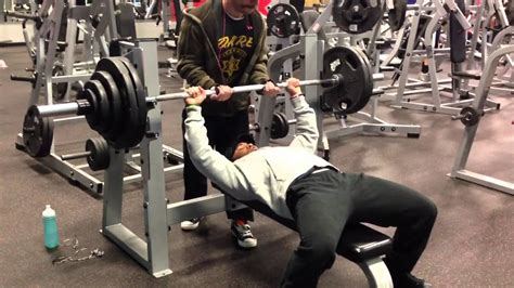 bench 300 pounds 300 pound club bench press youtube