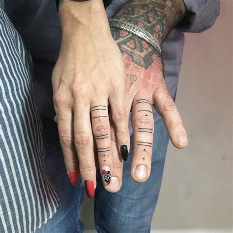 matching finger tattoos 60 brilliant ideas of finger tattoos with meanings 2018