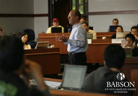 Type Of Students Babson Mba by In Pictures The 10 Most Innovative Business School Courses