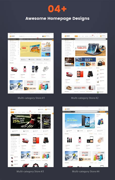 update layout homepage sj market responsive multipurpose virtuemart theme by