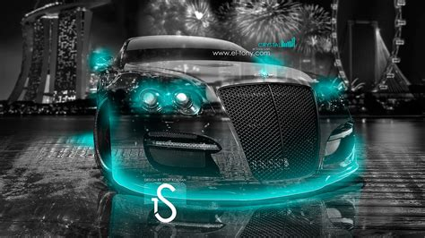 turquoise bentley bentley city car 2013 el tony
