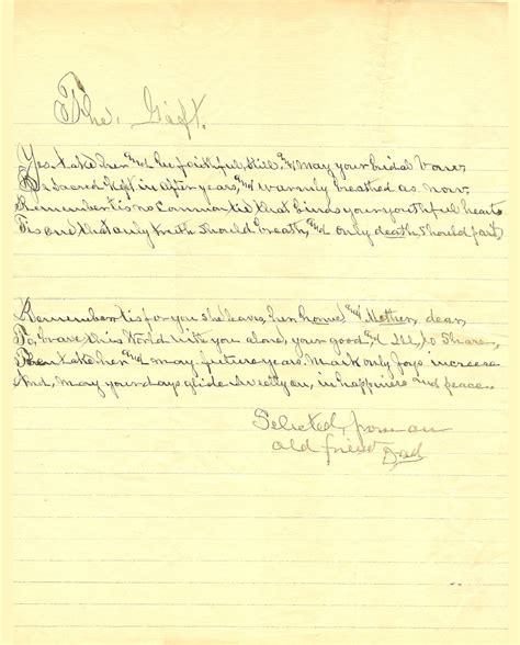 Gift Letter Fannie Mae Mershell Graham And Fannie Mae Turner Marriage License