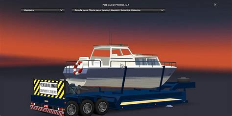 truck and boat trailer games truck trailer boat 187 gamesmods net fs17 cnc fs15 ets