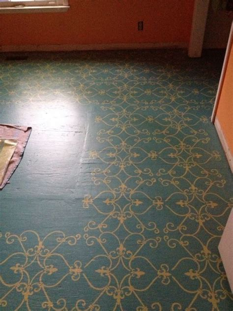 pictures of painted garage floors