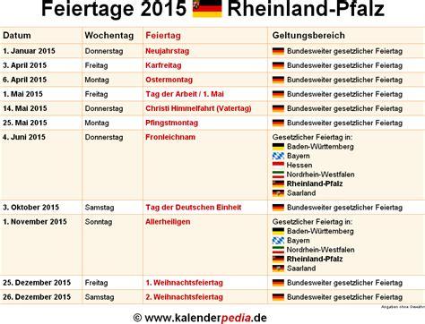 Kalender 2020 Rlp Feiertage Rheinland Pfalz 2015 2016 2017 Mit