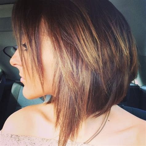 a line bob hairstyles pictures front and back a line bobs front and back short hairstyle 2013