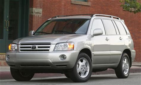 2004 Toyota Highlander Reviews 2004 Toyota Highlander Review