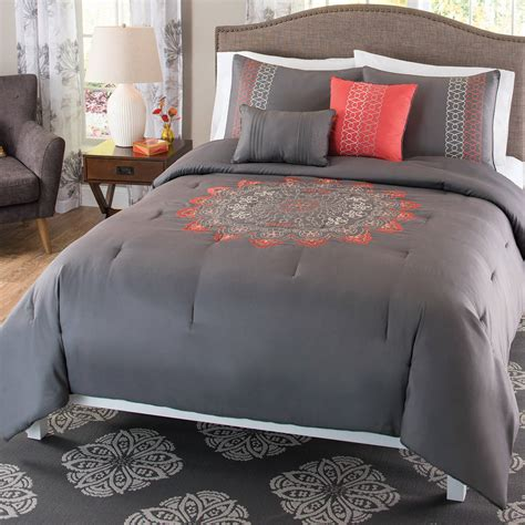 coral colored bedding bedroom interesting decorative bedding with comfortable