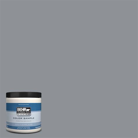 behr premium plus ultra 8 oz 770e 3 pewter mug interior exterior paint sle 770e 3u the