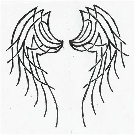 tattoo designs of angel wings reneegoudeau tribal wings tattoos designs gallery