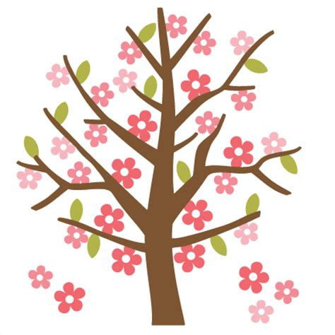 cute simple tree designs free clip art spring tree svg cutting file for scrapbooking