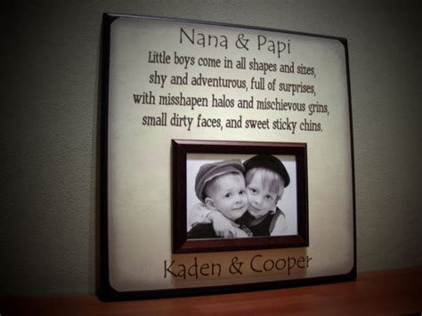 grandparents picture frame little boys come in by
