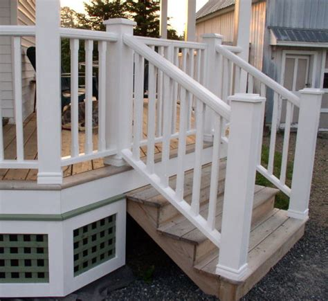 Porch Banister by How To Build Porch Railings Woodworking Plans