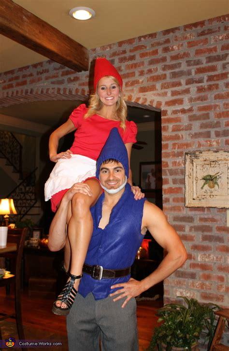 homemade gnomeo juliet couples costume