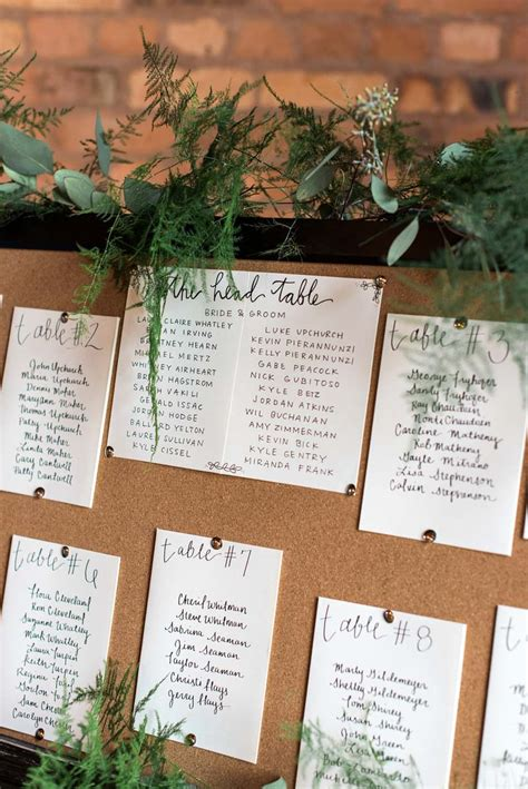 rustic themed wedding seating plan rustic wedding at the historic smithonia farm in