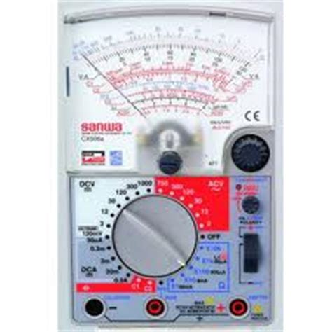 Multimeter Sanwa Cx506a Sanwa Cx506a Analog Multimeter Cx506a Rm350 00 Malaysia Tools Equipment Distributor