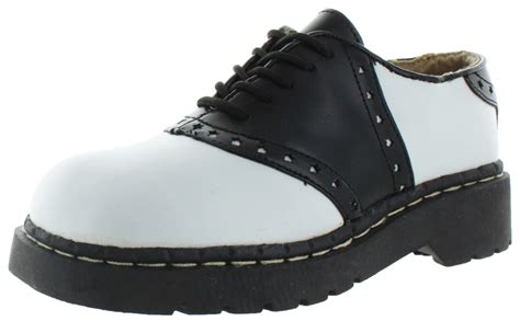 womens leather saddle oxford shoes anarchic by tuk t u k s saddle oxford dress shoes