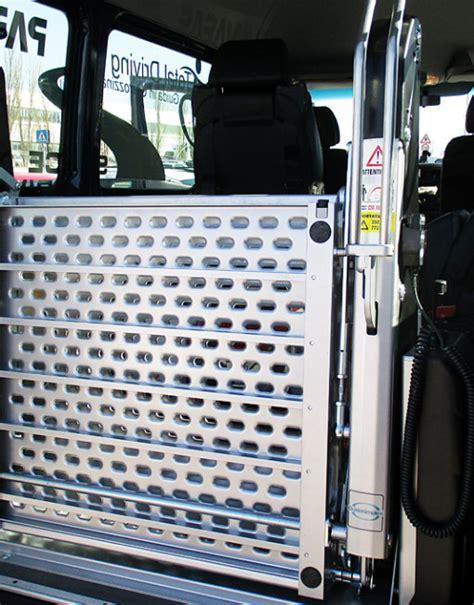pedana carrozzina pedane disabili alluminio permettono l accesso ai