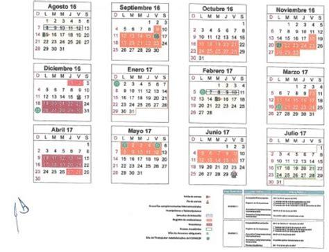 Calendario Oficial 2017 Mexico Calendario Escolar 2016 2017 Portal Oficial Gobierno