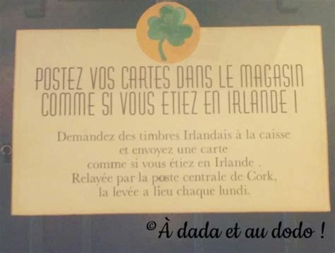 comptoir irlandais rouen une carte postale d irlande voyageons ludique 192 dada