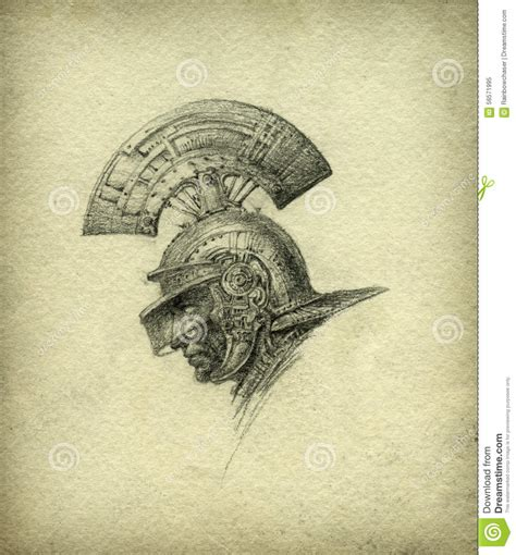 Handmade Drawing Paper - pencil sketch stock illustration image 56571995