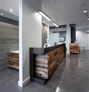 Cool Reception Desks 1000 Images About Unique Wood Reception Desks On Reception Desks Desks And