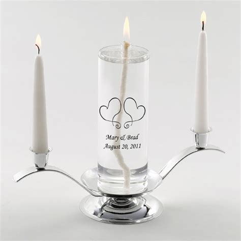 Unity Candle by Eternity Personalized Unity Candle Set