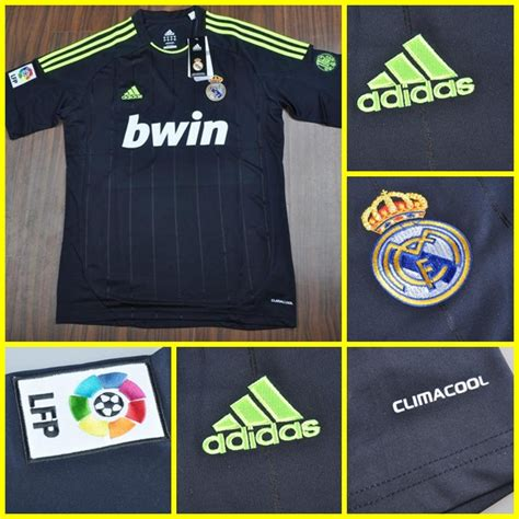Jersey Bola Grade Ori Real Madrid Prematch Blue Officia Limited 1 real madrid away 2012 2013 grade ori jersey bola 172