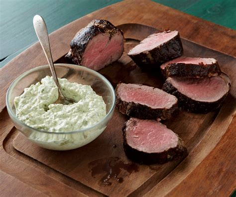 horseradish sauce for beef beef tenderloin with cool horseradish dill sauce