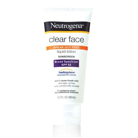 K Care Sun Screen Lotion neutrogena clear sunscreen lotion spf 55