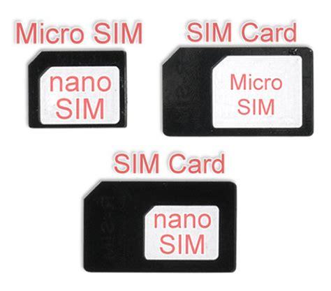 Sim Card Simcard Adapter Mini Micro Nano nano micro sim to micro sim sim adapter