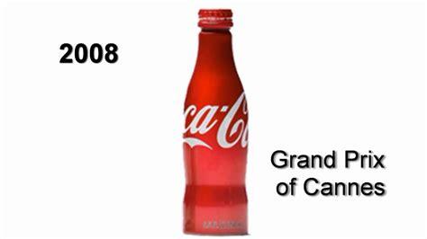 la cola de la evoluci 243 n de la botella de coca cola en 100 a 241 os youtube