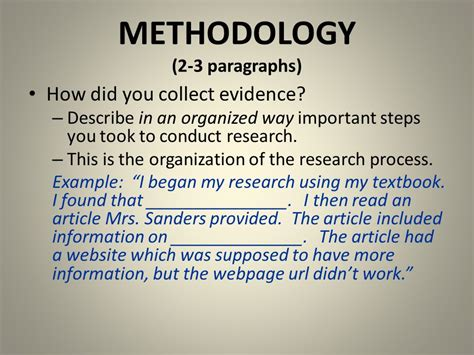 how to conduct a research paper imrdc research paper ppt