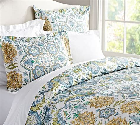 Pottery Barn Comforter by Cora Paisley Organic Duvet Cover Sham Pottery Barn