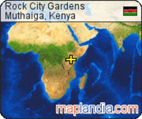Rock City Gardens Kenya Rock City Gardens Muthaiga Satellite Map