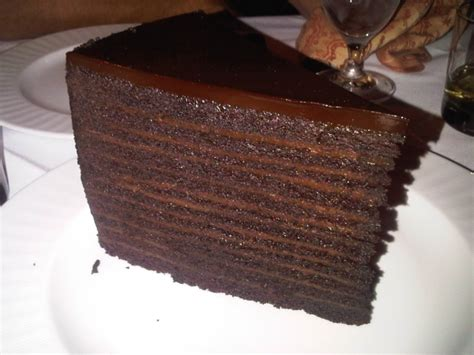 strip house 24 layer chocolate cake 24 layer chocolate cake from strip house on chaqula